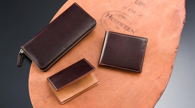 ホーウィンコードバンの財布