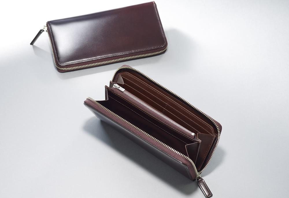 長財布(ラウンドファスナー束入)
