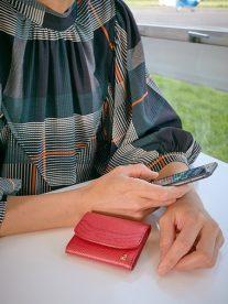 アレナリア|三つ折りコンパクト財布